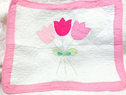 Cozy Line Home 4 Quilt Flower 100% Kids