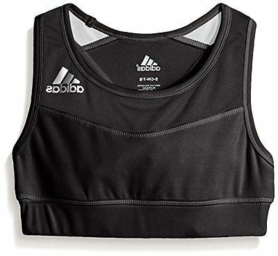 adidas Childrens Apparel  Big Girls Sports Bra- Pick SZ/Colo
