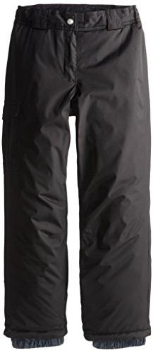 White Sierra Girl's Cruiser Pant  Black Pants MD