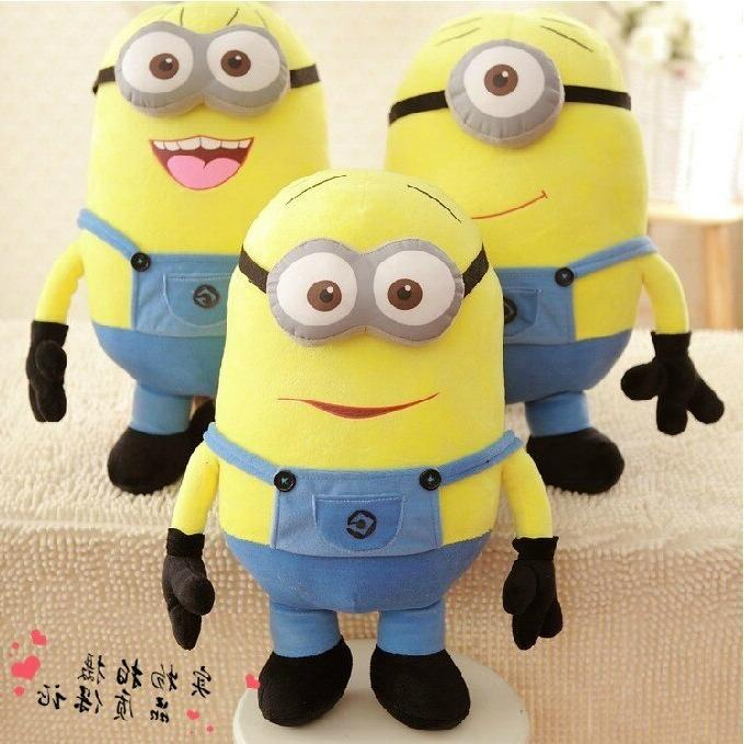 Cute Movie Characters Toys Eyes Bob Jeans Kids Gift