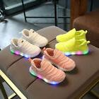 LE Led Sneakers Light Lace Up Kids Luminous New Children Kid