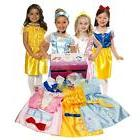 Disney Princess Dress Up Trunk For Girls Child Playtime Fun