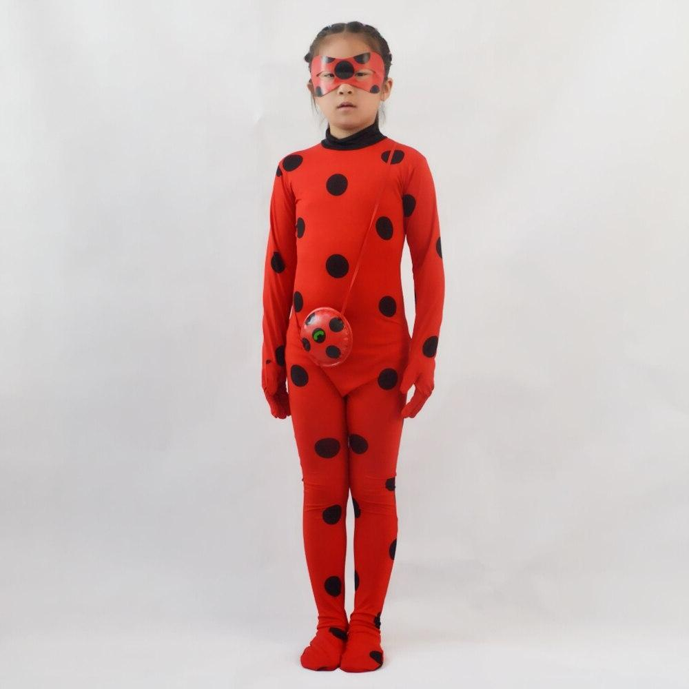 <font><b>Girls</b></font> Costume bug Cosplay Clothing <font><b>Kids</b></font> Halloween Party Little bug Jumpsuit