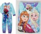 Disney Frozen Elsa Anna BLANKET Sleepwear sleep PAJAMA SET G