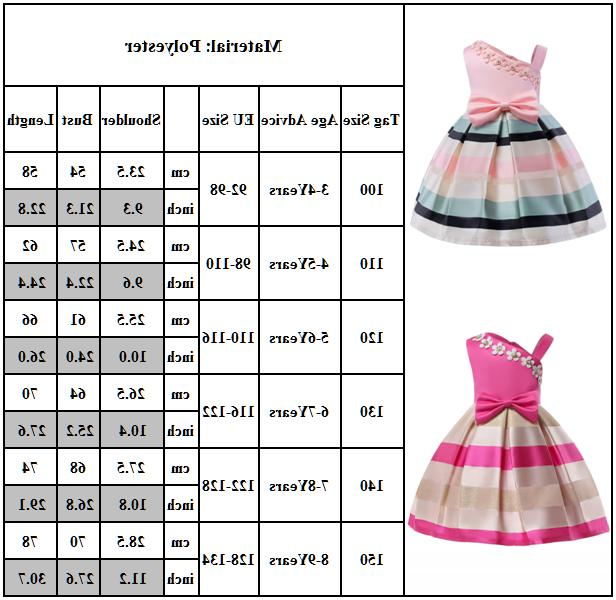 Girls Wedding Princess Bridesmaid Prom Birthday for