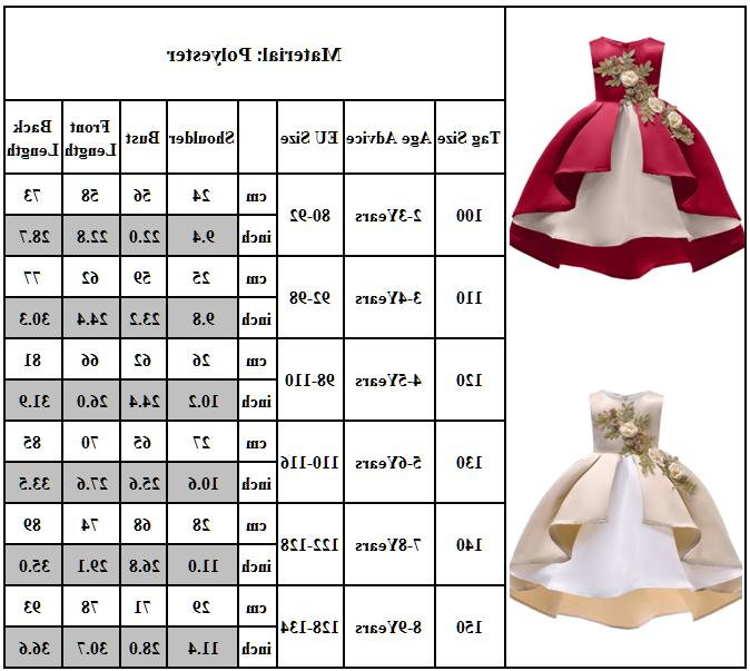 Girls Dress Wedding Prom