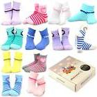 TeeHee Kids Girls Cotton Fashion Fun Crew Socks 12 Pair Scal