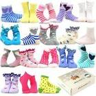 TeeHee Kids Girls Fashion Variety Cotton Crew 18 Pair Pack G