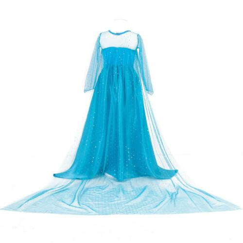 Kids Girls Dress Princess Party Xmas