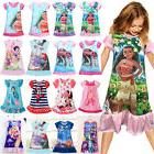 Girls Kids Disney Dress Cartoon Child Pajamas Tops Nightgown