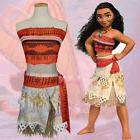 girls kids moana princess costume fancy dress