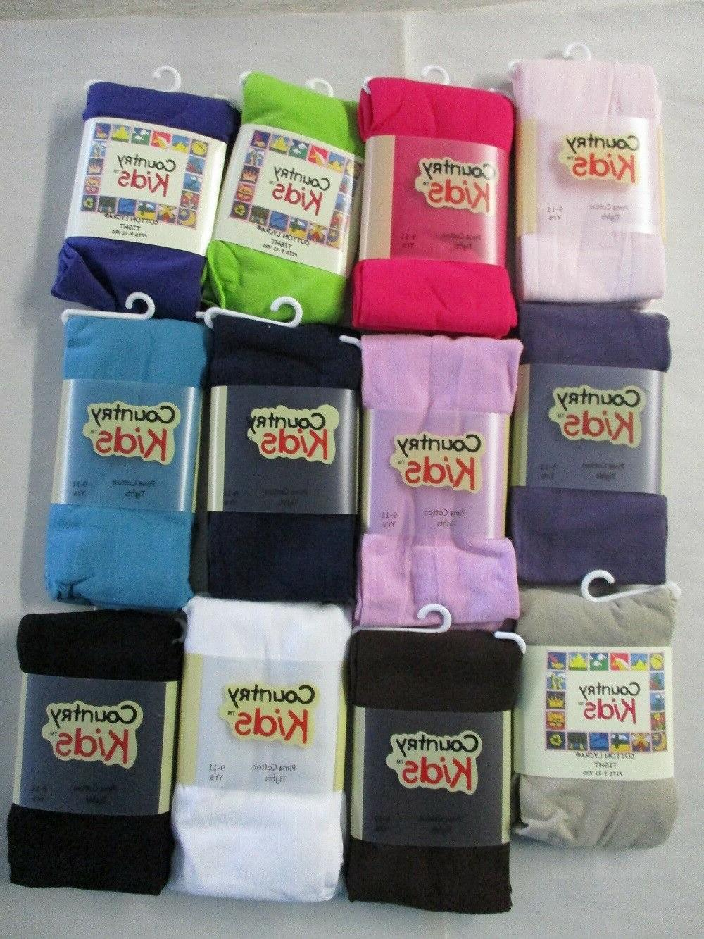 girls pima cotton tights by 9 11