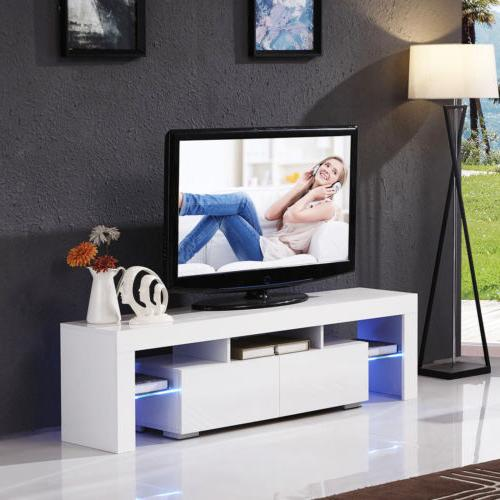 Modern LED Light 2 Console Table