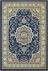 Isfahan Navy Blue Traditional Area Rugs Carpet 2x3 2x7 5x7 8