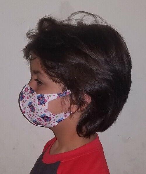 KIDS Pack Cover Mask Cloth ❤ Girls