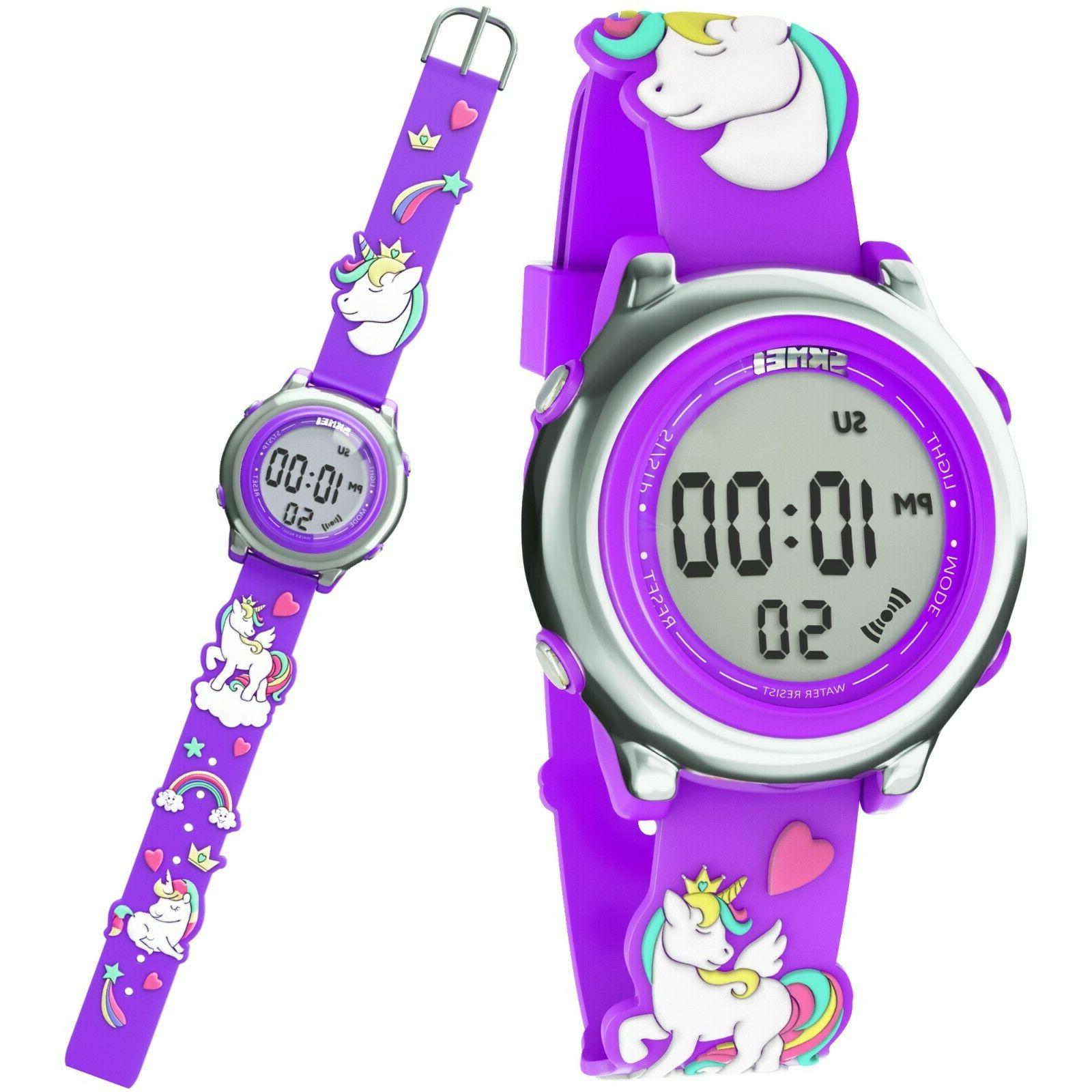 Kids Watch For Girl Silicone Gift