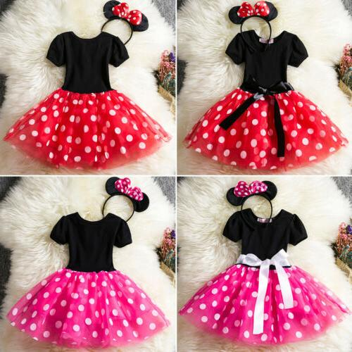 Kids Minnie Tutu Dress Headband