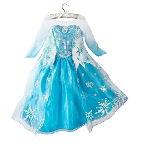Kids Dress Costume Anna Party Dresses US