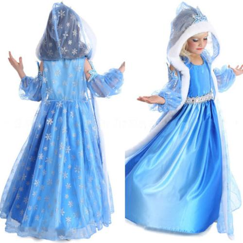 Dress Cosplay Costume Anna Fancy