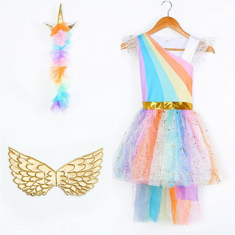 Kids Girls Fancy Outfits Lovely