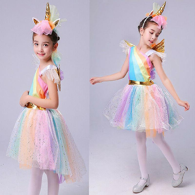 Kids Fancy Dress Cosplay Outfits Party Lovely