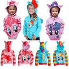 Kids Girls Hoodies Wing Sweater Sweatshirt Cartoon Coat Zip