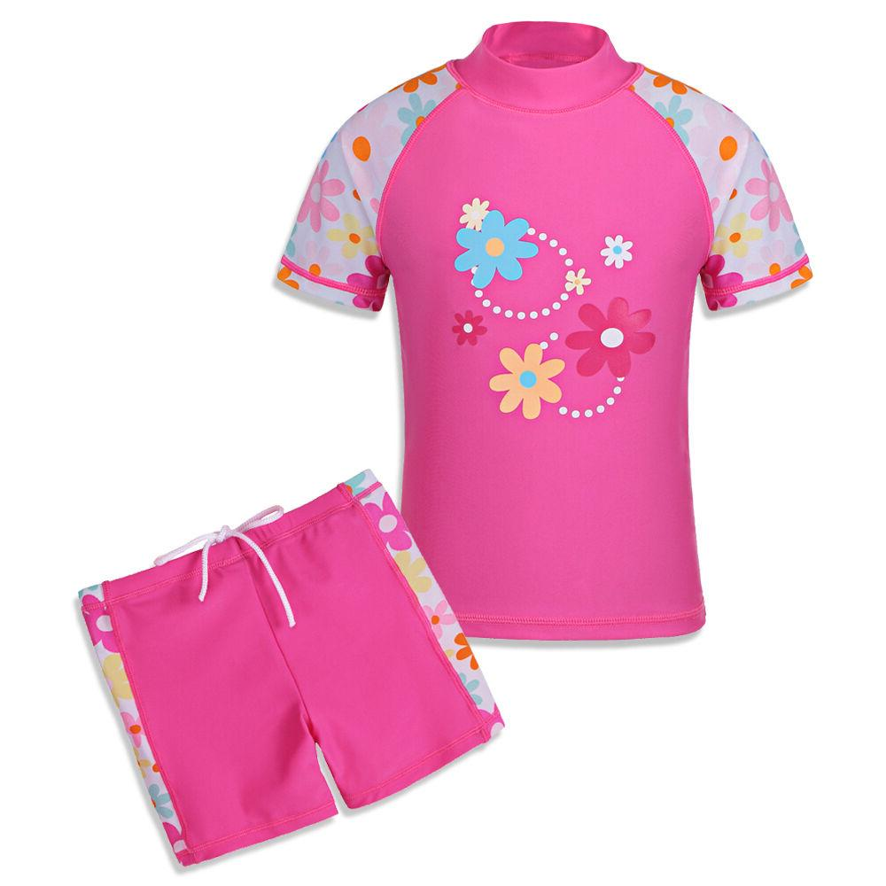 Kids Sun Swimsuit Surf Diving Swimming Costume 3-12Y