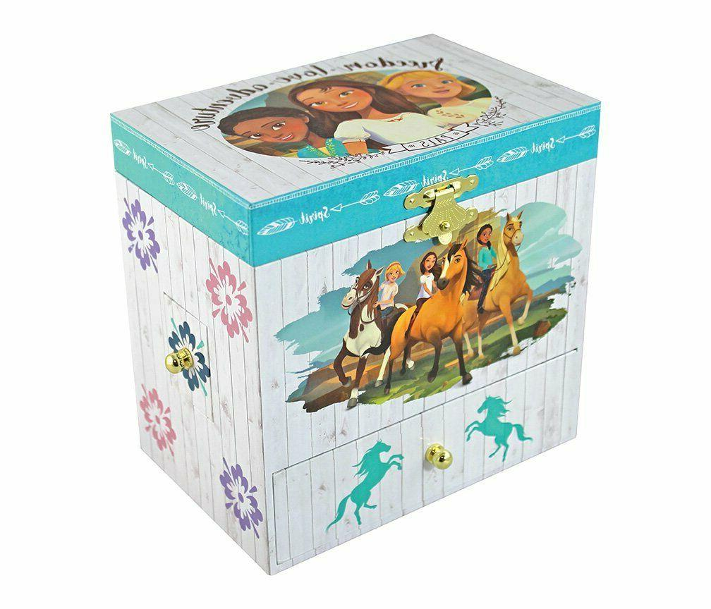 Kids Girls Horse Storage Drawers