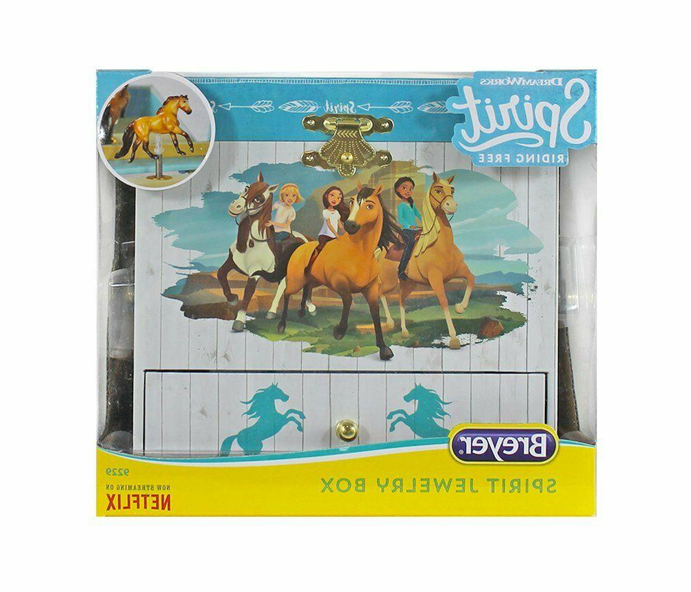 Kids Jewelry Box Girls Horse