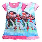 Kids Pajamas Girls Moana Princess Dress Children Pyjamas pjs