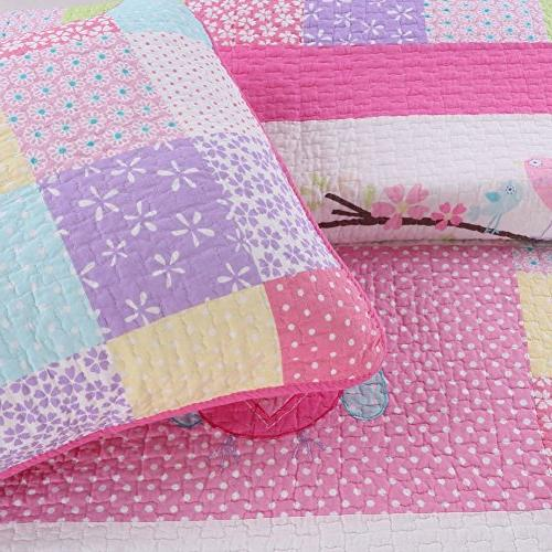 Cozy 2 Quilt Set for Kids/Girls Bedding, Twin Size