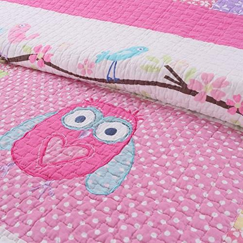 Cozy 2 Quilt for Kids/Girls Bedding, Twin Size
