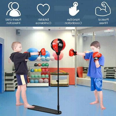 Kids Punching Stand Boxing Boxing Set for Girls