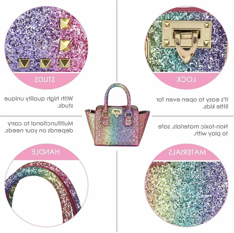 Purse for Girls Toddlers Rainbow