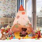 Buringer Kids Teepee Play Tent for Boys and Girls Red Playho