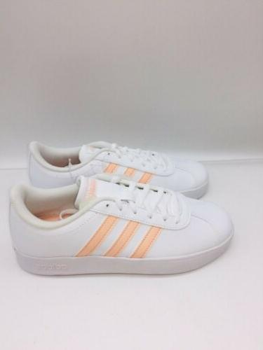 adidas Essentials VL Shoes White / Pink US 1