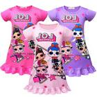 L.O.L Surprise Dolls Kids Girls Summer Fashion Casual Short