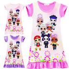 L.O.L Surprise Dolls Kids Girls Summer Fashion Casual Cospla