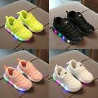 Led Boys Girls Babys Luminous Trainer Shoes Kids Sneaker Run