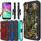 For LG Stylo 4/4 Plus/Stylo 3 Armor Case With Kickstand Clip