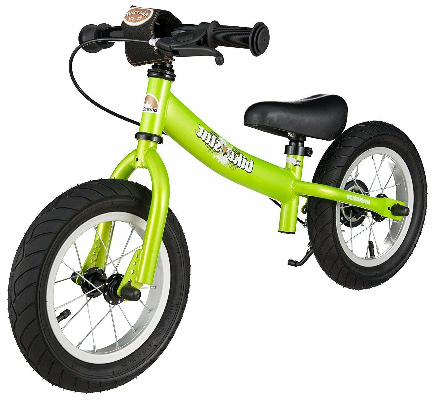 BIKESTAR® Lightweight Kids Sport Balance Bike w/ Breaks 12