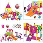 For LOL Surprise Doll Park house Game slide Playset Baby Gir