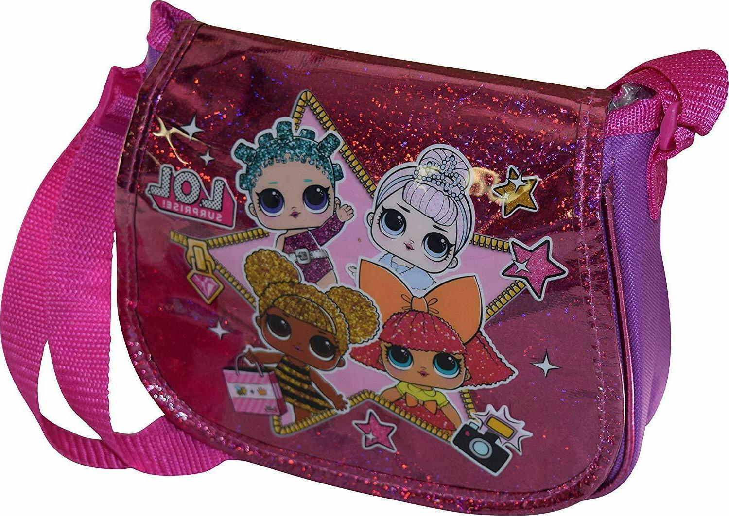 LOL Surprise Little Girls Over Crossbody Bag