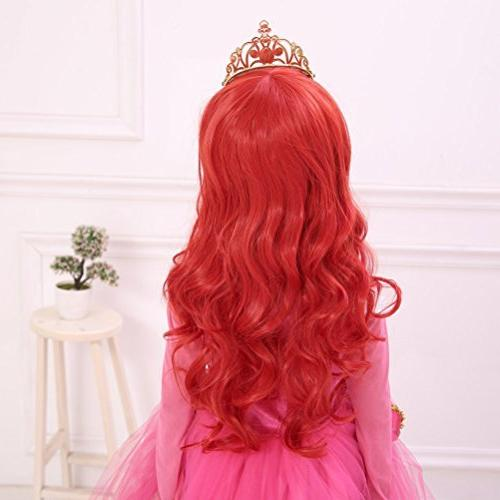 """Ani·Lnc 24"""" Red Synthetic Cosplay Hair Wig"""