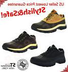 """Mens Work Boots 4"""" Short Winter Snow Boots Shoes Genuine Lea"""