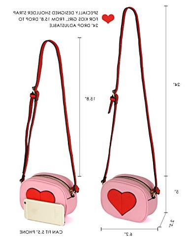 CMK Kids Heart and Little Girls Cross for Toddlers