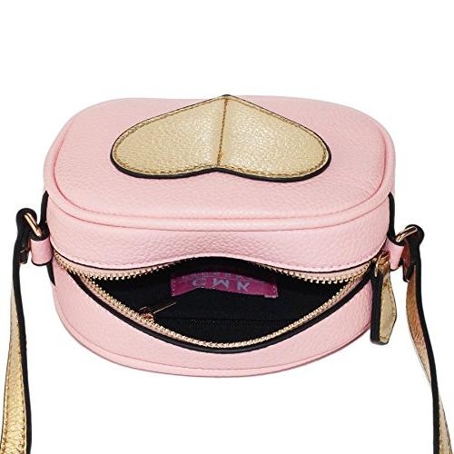 CMK Trendy Mini Heart and Girls Cross Body for Toddlers