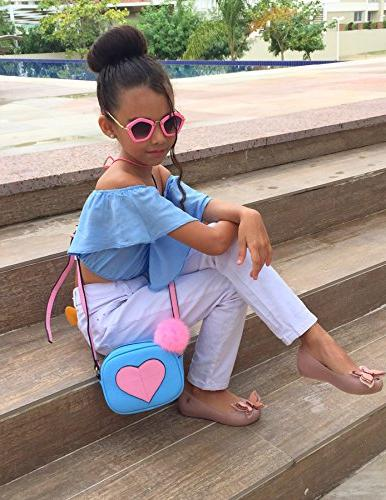 CMK Trendy Kids Heart Kids and for Girls Body Bag for Toddlers