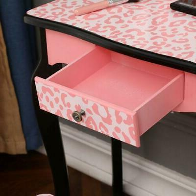 Mini Vanity Table 3 Mirror and Makeup Dressing
