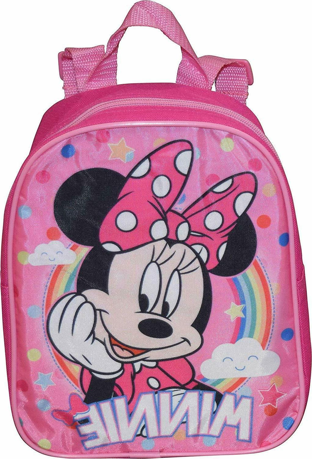 Disney Minnie Mouse Girls Toddler Mini Bows Backpack Bookbag